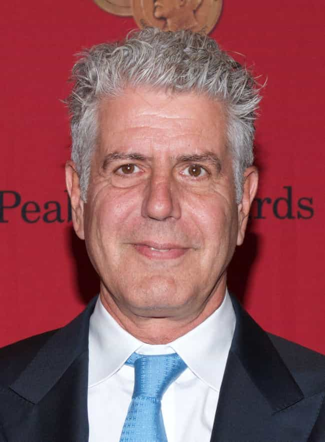Anthony Bourdain is listed (or ranked) 5 on the list Famous Cancer Celebrities