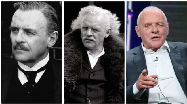 Anthony Hopkins is listed (or ranked) 4 on the list Actors in Old Age Makeup vs How They Actually Aged