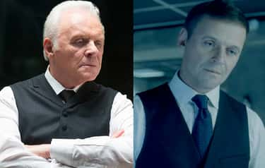 Anthony Hopkins In 'Westwo is listed (or ranked) 2 on the list Actors And Actresses Who Look Crazy Young In Movies And TV Thanks To CGI