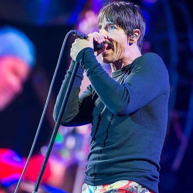 Anthony Kiedis is listed (or ranked) 4 on the list 25 Singers Who Are Scorpios