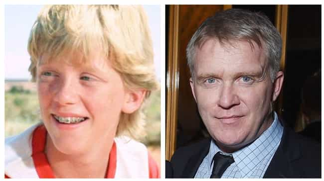 Anthony Michael Hall is listed (or ranked) 1 on the list All The Former Rusty And Audrey Griswolds: Where Are They Now?