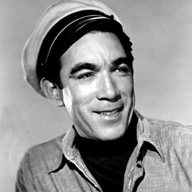 Anthony Quinn is listed (or ranked) 1 on the list Famous Painters from Mexico