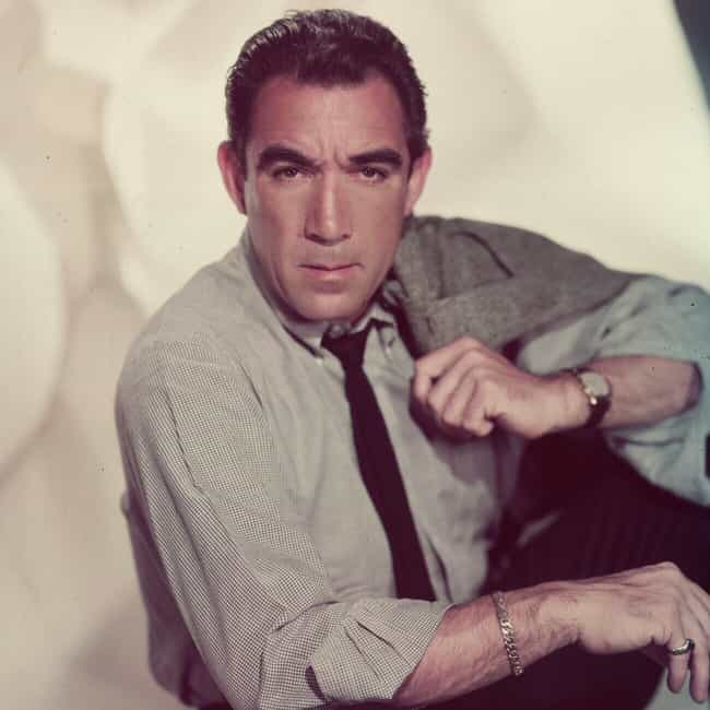 Anthony Quinn is listed (or ranked) 3 on the list The Very Best Hispanic Actors