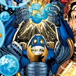 Anti-Monitor is listed (or ranked) 20 on the list The Best Superman Villains Ever