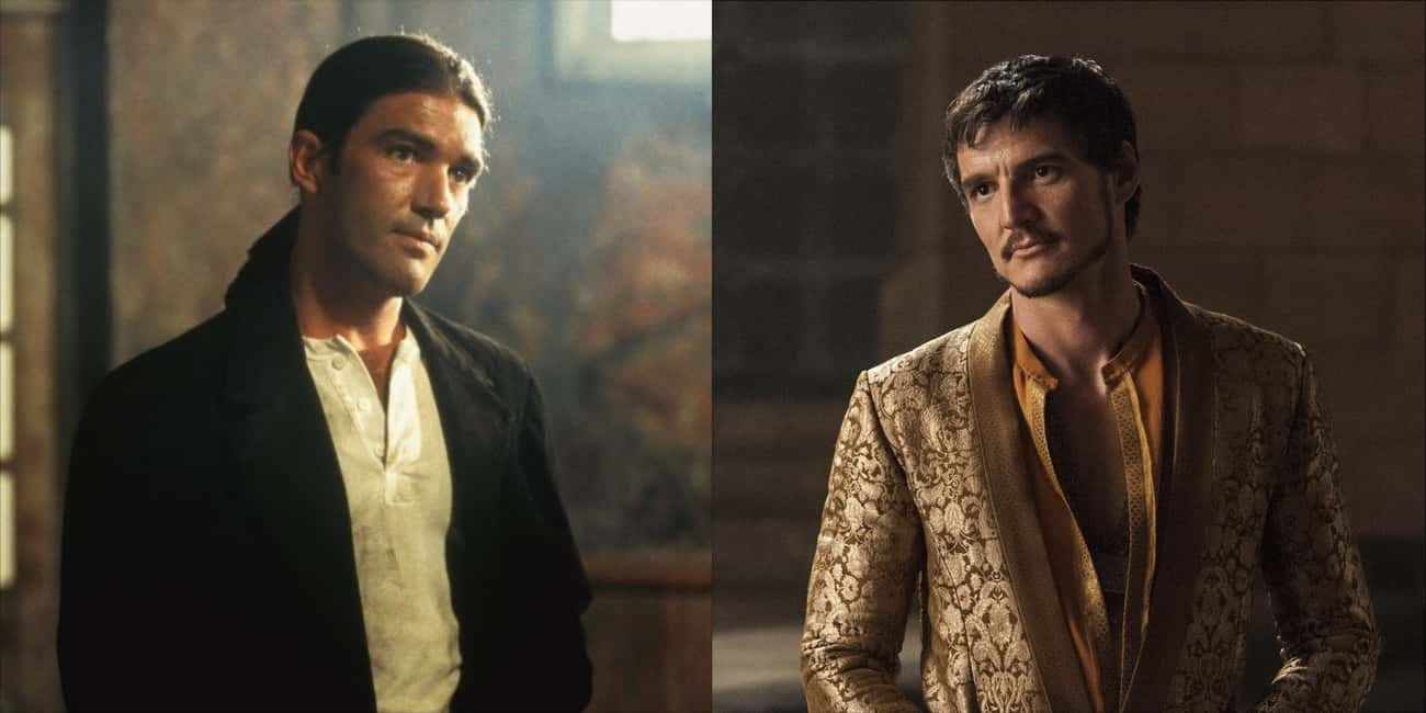 Antonio Banderas - Oberyn Mart is listed (or ranked) 1 on the list Who Would Star In 'Game Of Thrones' In The '90s?