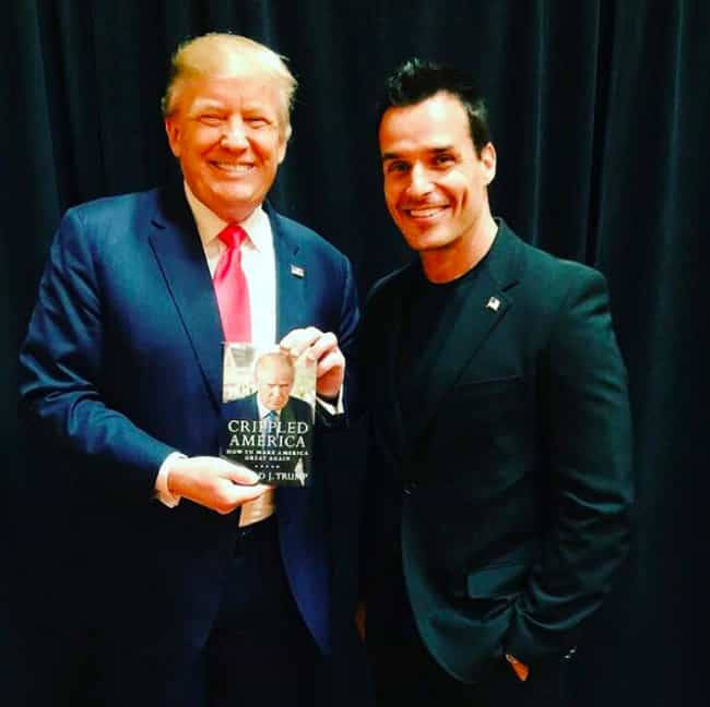 Antonio Sabàto, Jr. is listed (or ranked) 4 on the list Celebrities Who Actually Support Donald Trump