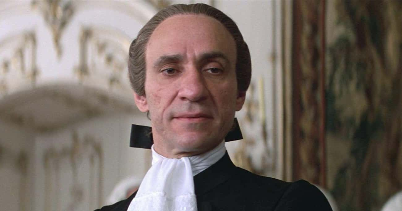 Salieri, 'Amadeus' is listed (or ranked) 3 on the list Movies That Unnecessarily Made Real People Into Villains
