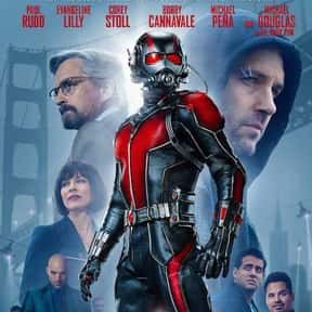 Ant-Man is listed (or ranked) 13 on the list The Best Michael Douglas Movies