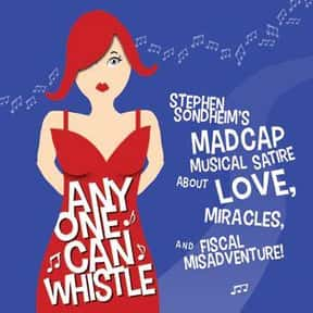 Anyone Can Whistle is listed (or ranked) 3 on the list Stephen Sondheim Plays List