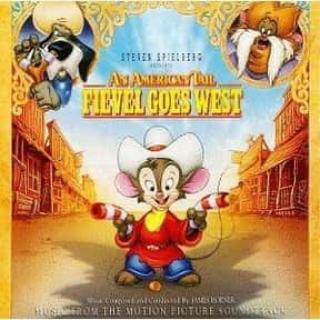 An American Tail: Fievel Goes  is listed (or ranked) 21 on the list The Best '90s Cartoon Movies
