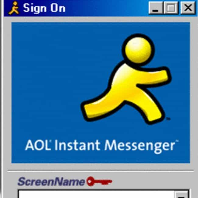 AOL Instant Messenger is listed (or ranked) 3 on the list Things We Never Use Now, But Used to Be LIFE in the 2000s