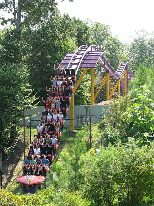 Apollo's Chariot is listed (or ranked) 1 on the list List of Busch Gardens Williamsburg Rides
