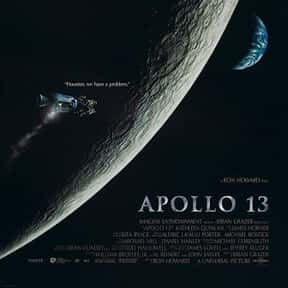 Apollo 13 is listed (or ranked) 6 on the list The Best Inspirational Movies