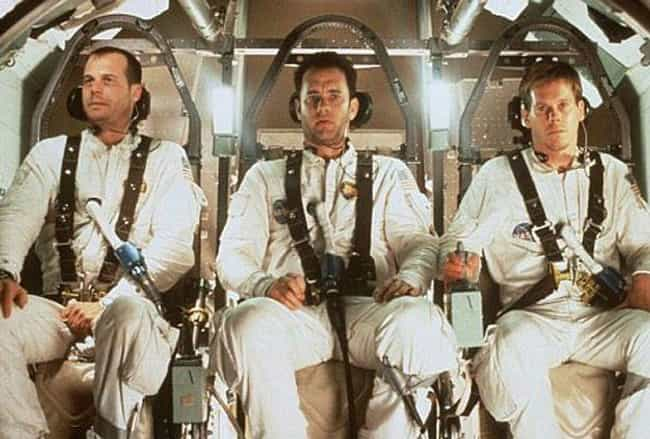 Apollo 13 is listed (or ranked) 7 on the list The 14 Most Scientifically Accurate Sci-Fi Movies