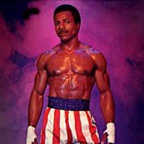 Apollo Creed is listed (or ranked) 7 on the list The Greatest Black Characters in Film History