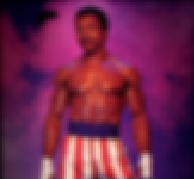 Apollo Creed is listed (or ranked) 4 on the list The Greatest Fictional Fighters of All Time