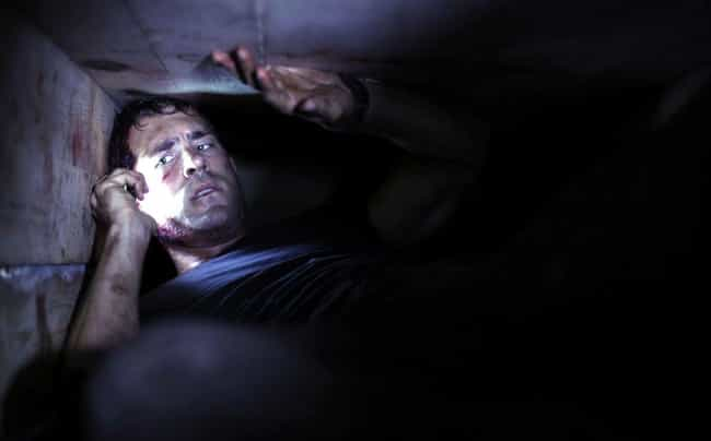 Buried is listed (or ranked) 2 on the list Movies That Will Drive Anyone With Claustrophobia To The Edge