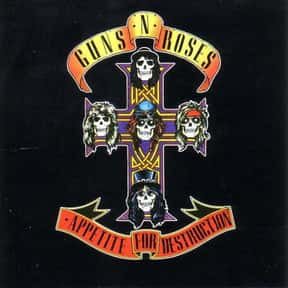Appetite for Destruction is listed (or ranked) 7 on the list What Are the Best Diamond Certified Albums of All Time?