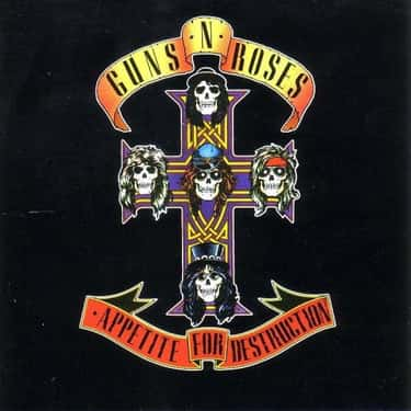 Appetite for Destruction is listed (or ranked) 1 on the list The Best Guns N' Roses Albums of All Time