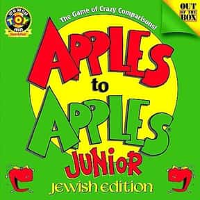 Apples to Apples is listed (or ranked) 16 on the list The Best Games for Kids