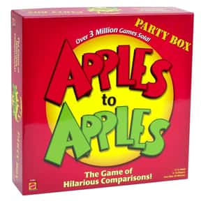 Apples to Apples is listed (or ranked) 10 on the list The Best Family Board Games