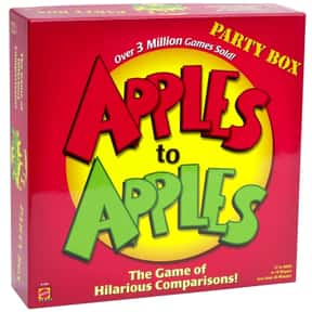 Apples to Apples is listed (or ranked) 1 on the list The Best Board Games for Parties