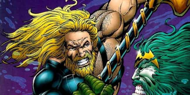 Aquaman is listed (or ranked) 2 on the list The Best Facial Hair in Comics & Superheroes with Beards