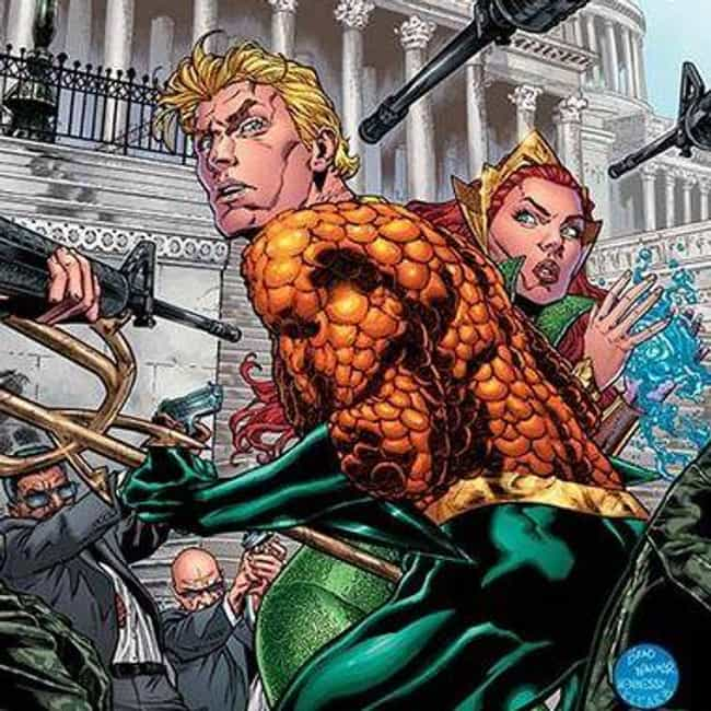 Aquaman is listed (or ranked) 2 on the list 15 Comic Book Characters Who Are Way Stronger Than They Get Credit For