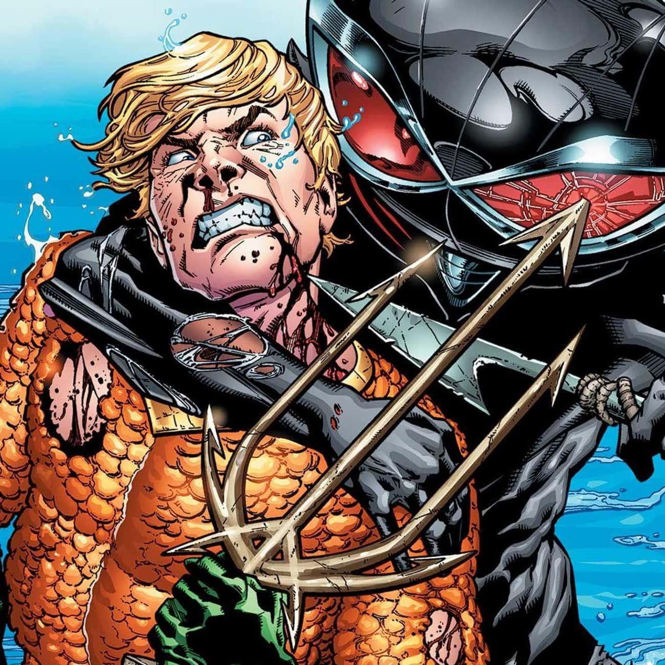 Aquaman is listed (or ranked) 4 on the list Half-Human Hybrid Heroes