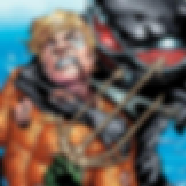 Aquaman is listed (or ranked) 3 on the list Half-Human Hybrid Heroes