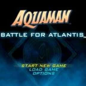 Aquaman: Battle for Atlantis is listed (or ranked) 15 on the list List of Gamecube Games