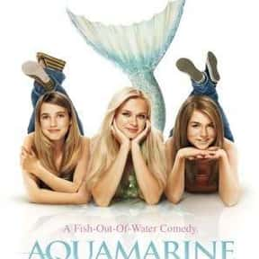 Aquamarine is listed (or ranked) 1 on the list The Best Mermaid Movies