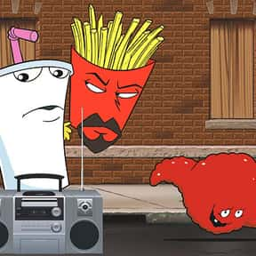 Aqua Teen Hunger Force is listed (or ranked) 25 on the list The Best Cartoons of the 2010s