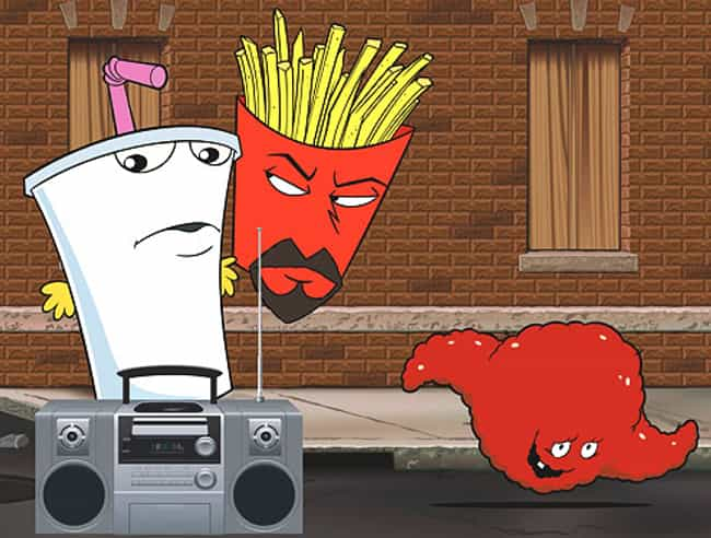 Aqua Teen Hunger Force is listed (or ranked) 4 on the list What to Watch If You Love 'Archer'