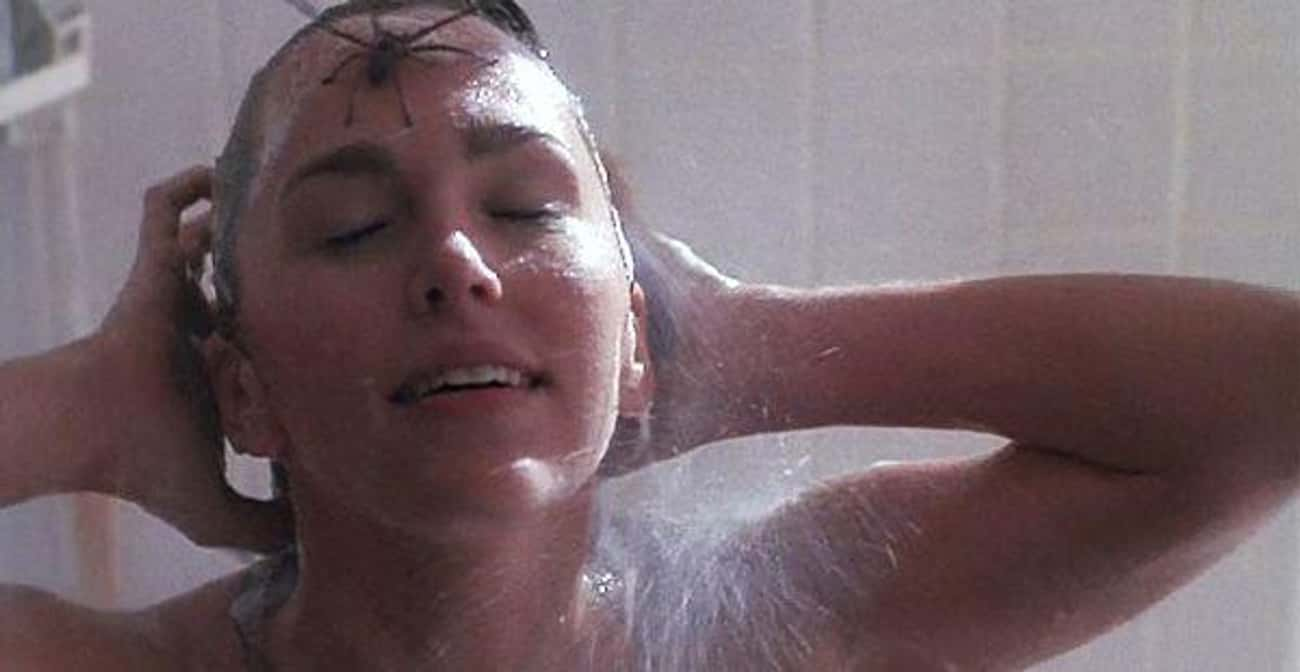 'Arachnophobia' - Showering is listed (or ranked) 1 on the list Pretty Good Horror Movies That Make Everyday Activities Terrifying