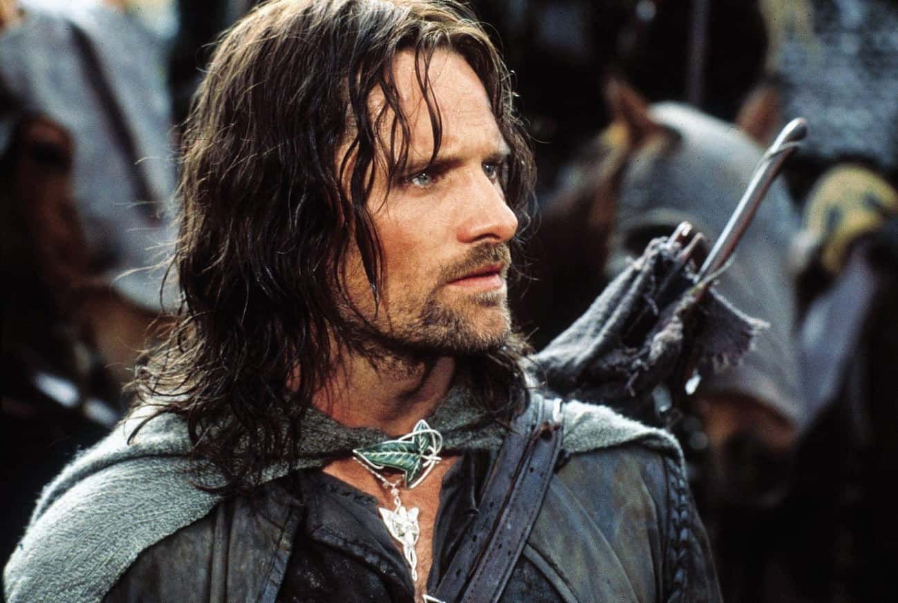 Aragorn is listed (or ranked) 2 on the list 10 Amazing Roles Almost Played by Nicolas Cage