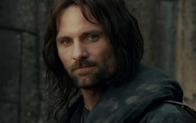 Aragorn is listed (or ranked) 3 on the list 17 Fictional Characters Whose Ages You Were Totally Wrong About
