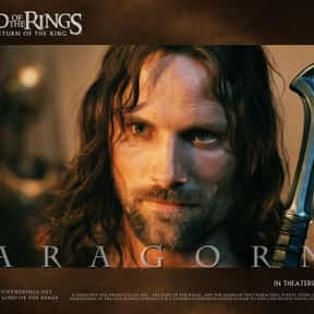 Aragorn is listed (or ranked) 14 on the list Movie Tough Guys Without Super Powers or a Super Suit