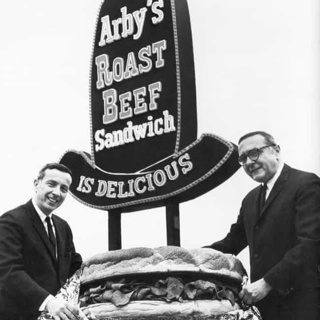 The Raffel Brothers in Front of the First Arby's Youngstown, OH, 1964