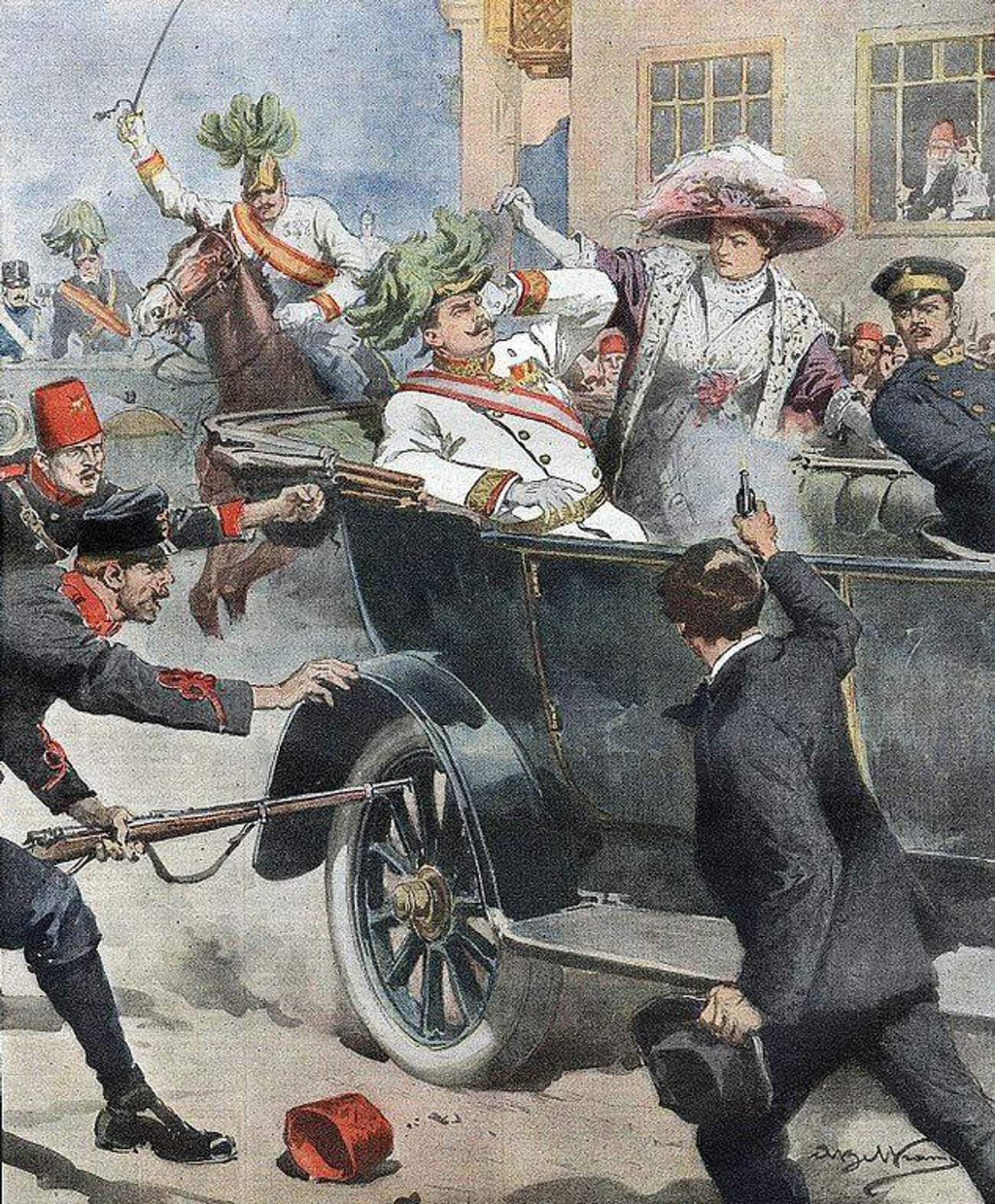 The Assassination Of Archduke  is listed (or ranked) 1 on the list The 12 Most Influential Royal Assassinations In World History