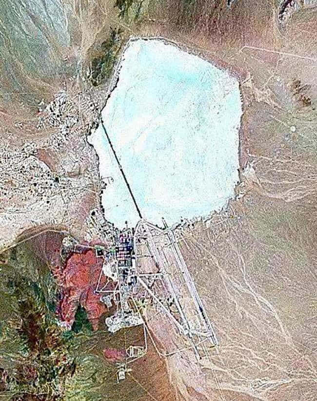 Area 51 is listed (or ranked) 3 on the list The Most Successful Government Cover Ups EVER