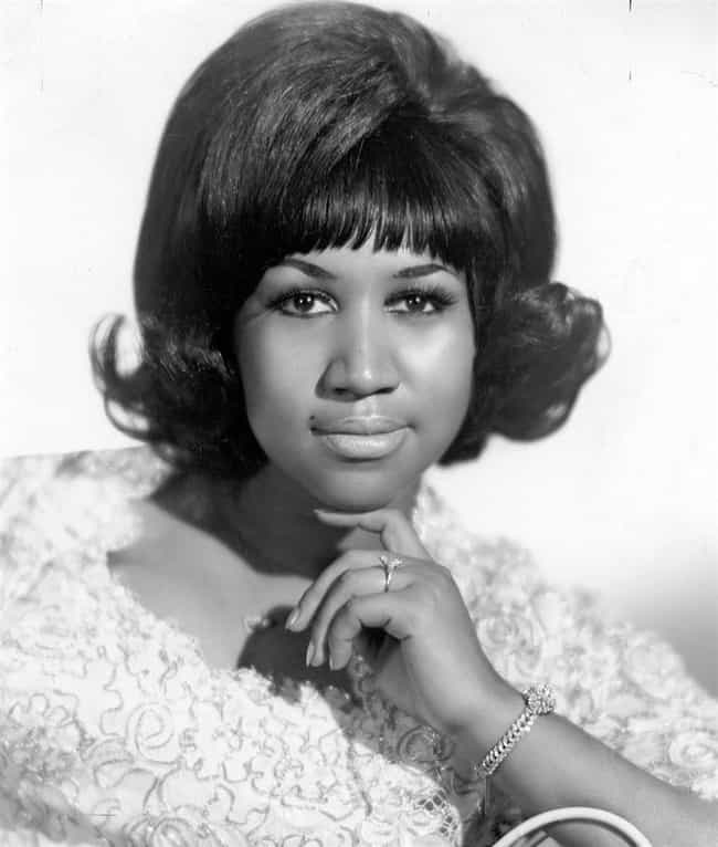 Aretha Franklin is listed (or ranked) 3 on the list Famous People Born in 1942