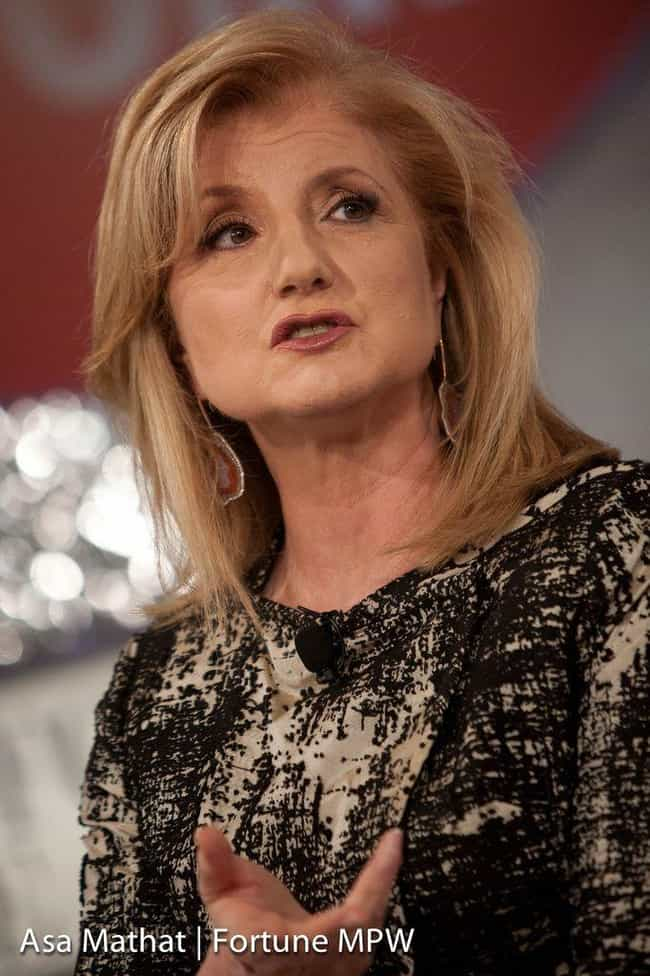 Arianna Huffington is listed (or ranked) 2 on the list Jerry Brown's Loves & Hookups