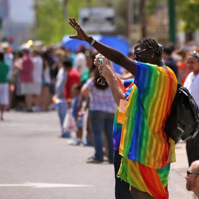 Arizona is listed (or ranked) 3 on the list All States Where Gay Marriage Is Illegal