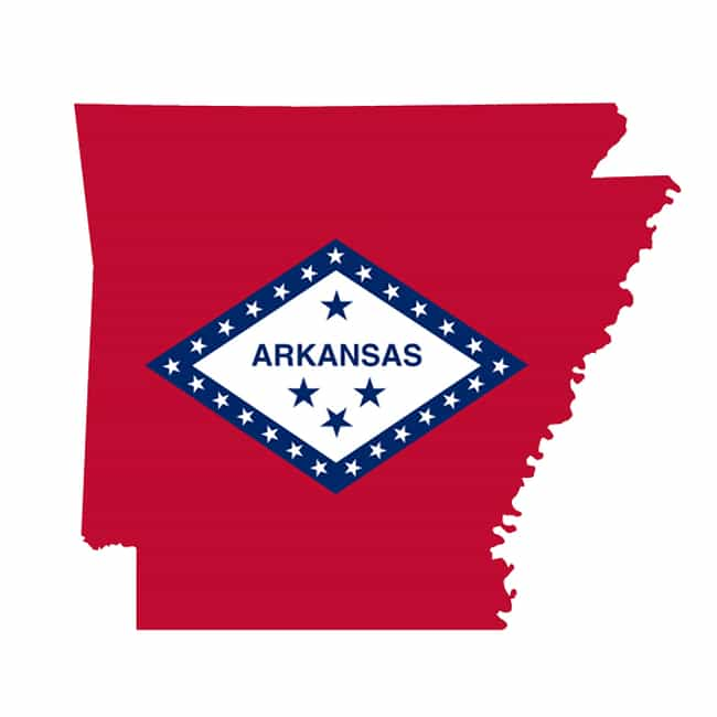 Arkansas is listed (or ranked) 4 on the list 50 Bizarre State Laws