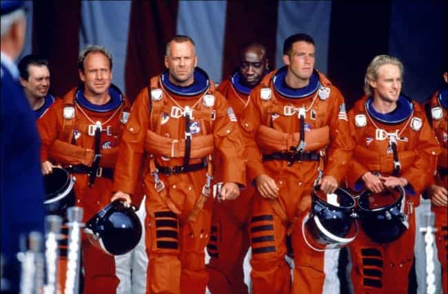 Armageddon is listed (or ranked) 3 on the list Oscar-Nominated Movies with Plot Holes You Can't Unsee