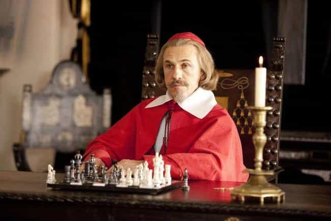 Cardinal Richelieu is listed (or ranked) 4 on the list Historical Figures Who Are Consistently Misrepresented In Pop Culture