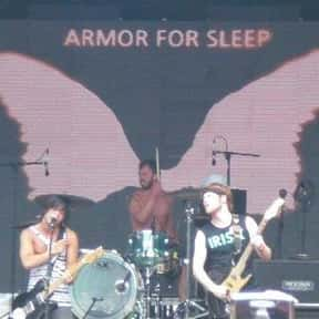 Armor for Sleep is listed (or ranked) 11 on the list Sire Records Complete Artist Roster