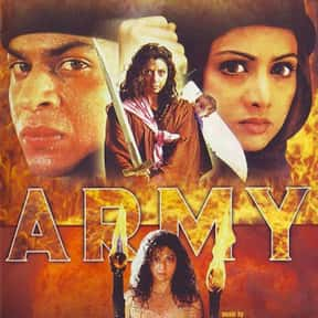 Army is listed (or ranked) 3 on the list The Best Sridevi Kapoor Movies