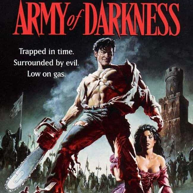 Army of Darkness is listed (or ranked) 1 on the list Bruce Campbell Zombie Roles